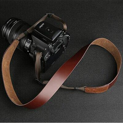 nikon neck  shoulder strap for nikon slr camera redblack original vintage 2744