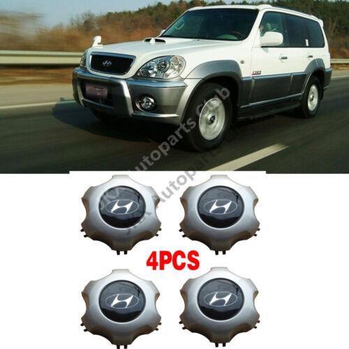 "OEM 16/"" Wheel CENTER COVER Cap 4PCS For Hyundai Terracan 2003 2004 2005 2006"