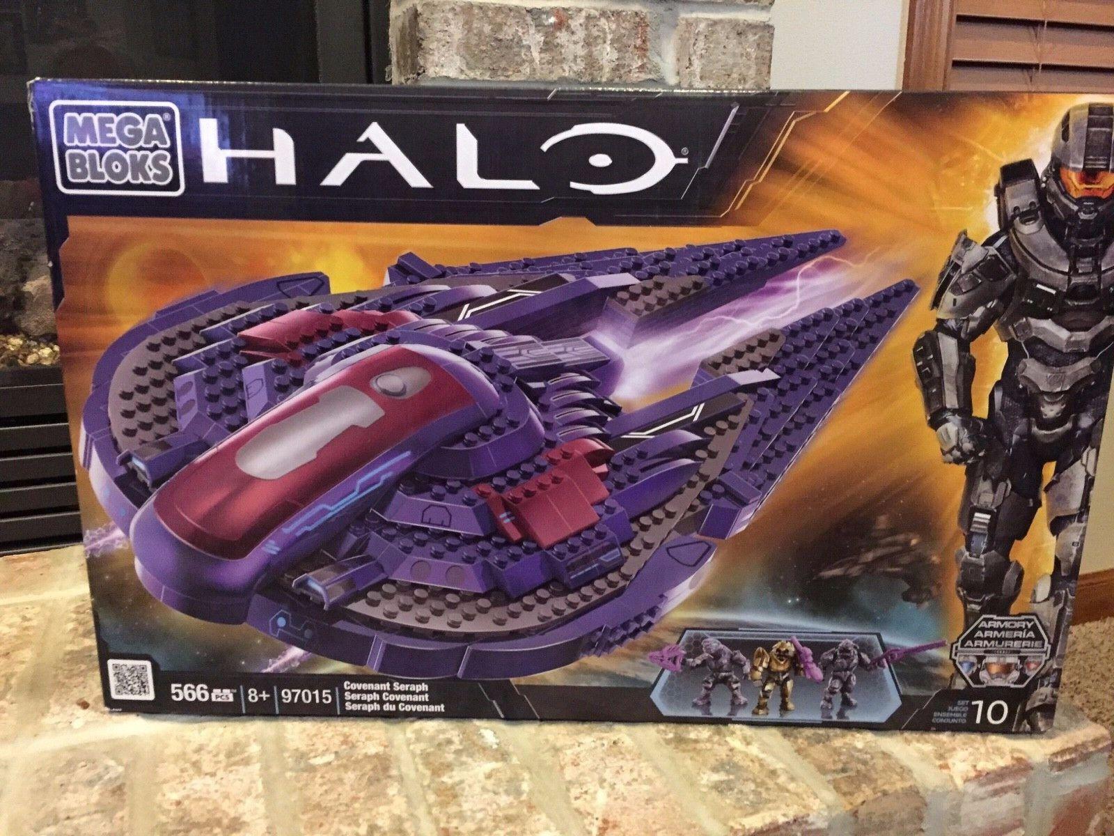 2012 2012 2012 Mega Bloks Halo 97015 Covenant Seraph 566 PCS.  producto de calidad