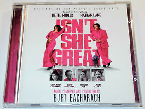 Burt-Bacharach-ISN-T-SHE-GREAT-Dionne-Warwick-Vanessa-Williams-Soundtrack-CD-NM