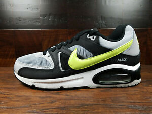 Details about Nike Air Max Command (Wolf Grey Volt Black) [629993 047] Mens Size 8 13