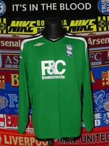 dd2120989 4 5 Birmingham City adults 3XL 2008 goalkeeper football shirt jersey ...