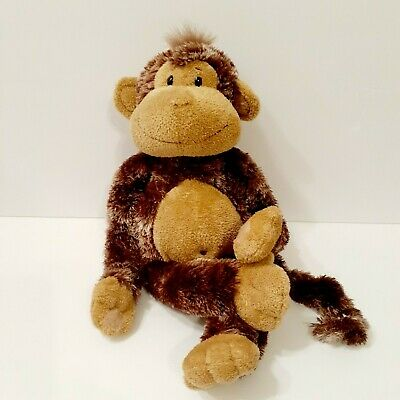 Aurora 3360 18 Assorted Hanging Monkey Soft and Snuggly Stuffed Animal Plush Multicolor