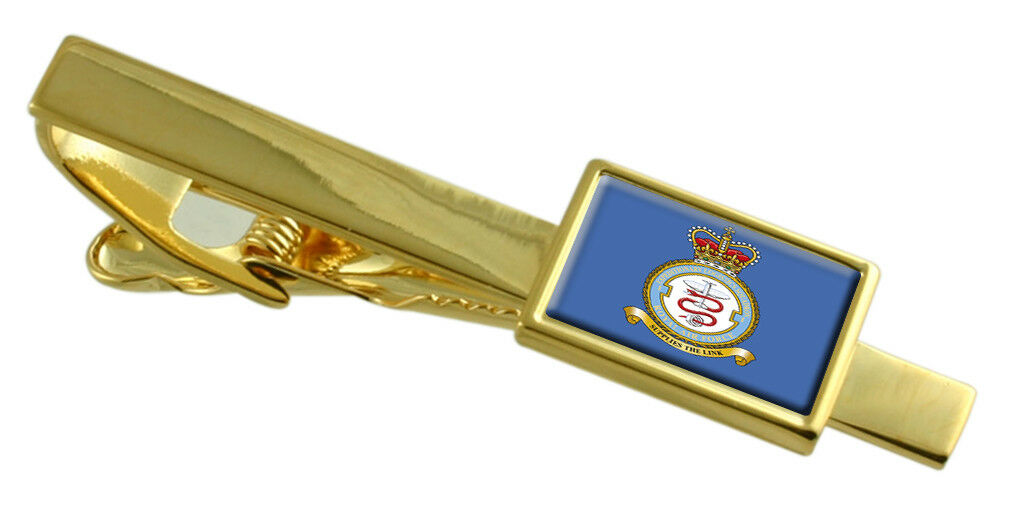 Royal Royal Royal Air Force Regiment Colore oro Fermacravatta Inciso 337164