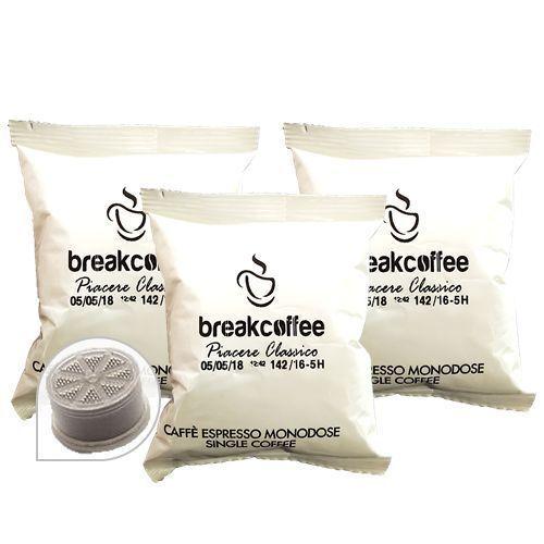 200 Cápsulas Compatible Lavazza Espresso Point Café' Break Coffe Clásico