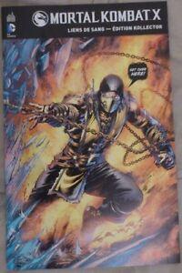 Mortal Kombat X : Goodies (Comic Sticker PS4 Porte-clef) - France - État : Neuf : autre (voir les détails): Objet neuf n'ayant jamais servi, sans aucune marque d'usure. L'emballage d'origine peut tre manquant ou la bote de l'objet peut avoir été ouverte et non rescellée. objet neuf n'ayant jamais servi, avec - France
