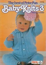bdca0845a UK - Peter Pan Baby Knits 373 Knitting Pattern Book 3 Ply 4 Pl...
