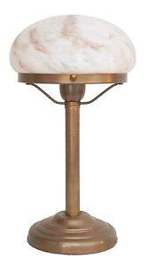 Mignonne-Art-Deco-Lampe-Champignon-Lampe-de-table-Bauhaus-en-laiton