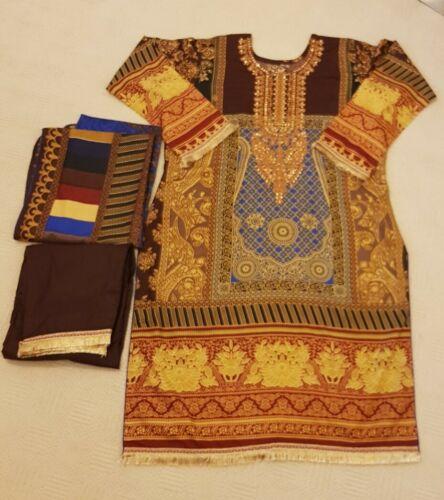 Winter clothes Sana safinaz Linen Stitched Farasha Ramsha Baroque ANAYA