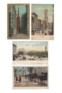 Rare Victorian era New York ship loading post card unposted