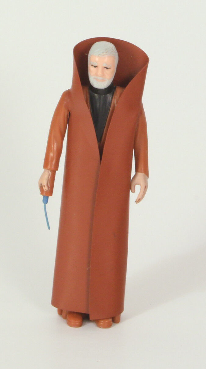 Vintage Star Wars Loose Ben Kenobi First 12 Very Nice Grey Hair