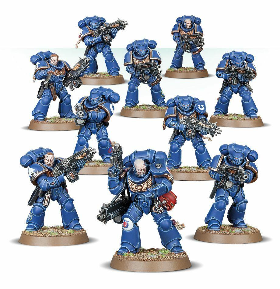 Primaris Intercessors New Space Marines