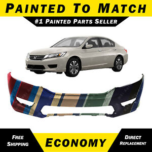 Bumper Trim compatible with 2014-2015 Honda Accord Front Chrome