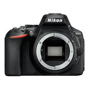 "Nikon D5600 Body 24.2mp 3.2"" DSLR Digital Camera Brand New Agsbeagle"