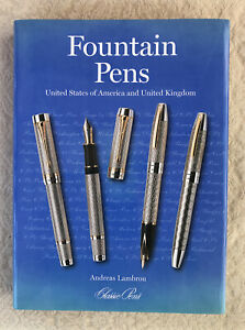 Fountain-Pens-US-amp-UK-Book-Limited-Edition-by-Andreas-Lambrou
