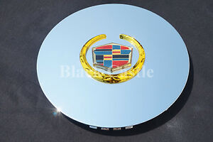 Cadillac Escalade chrome wheel center cap hubcap EXT ESV 4575 4584 single gold