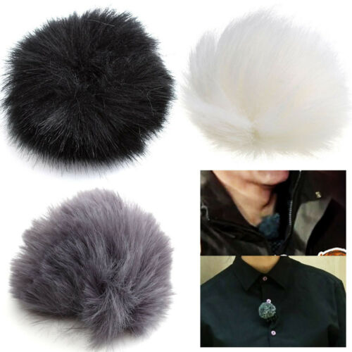 MINI MICROPHONE WIND SHIELD MUFF FURRY COVERS STOP WIND ENGINE VIBRATION NOISE