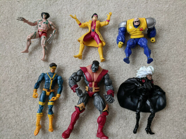 Xmen Action Figure Lot Marvel