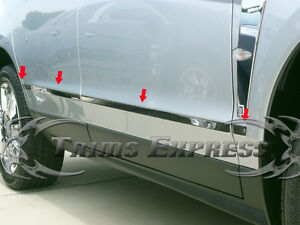 2010-2016-Cadillac-SRX-8Pc-Chrome-Lower-Body-Side-Molding-Trim-Stainless-Steel