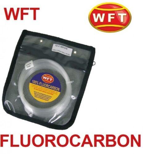 0,60mm-1,20mm WFT Fluorocarbon Vorfach Schnur 50m 0,60€//1m