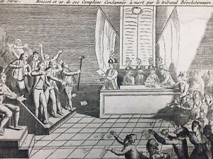 Proces-Brissot-1793-Valaze-Revolution-Francaise-Rare-Gravure-Girondins