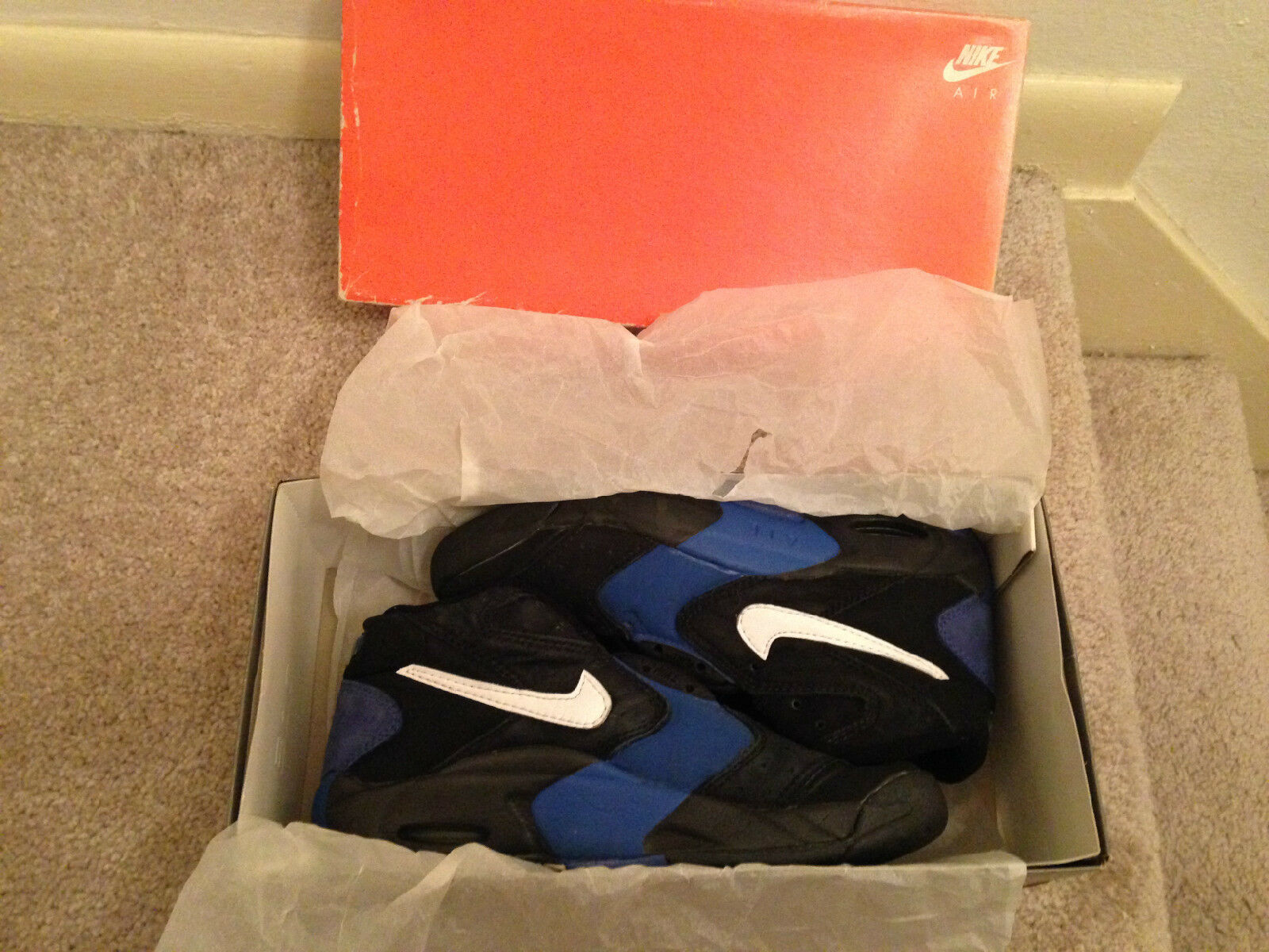 Super Rare Vintage 1995 Original OG Nike Air Up Penny Hardaway sz 8.5 shoes
