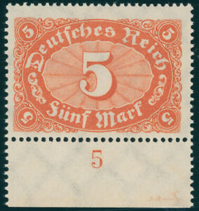 DR-1922-MiNr-194-c-tadellos-postfrisch-gepr-Dr-Oechsner-Mi-100