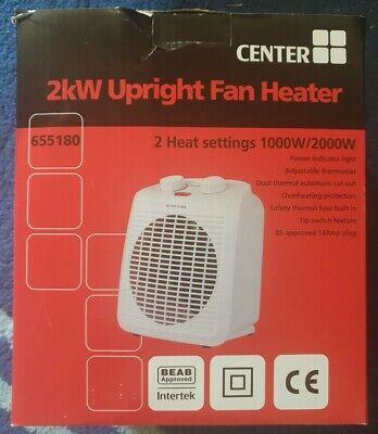 Hayes 2KW Upright fan heater boxed