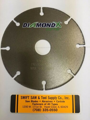 "DIAMOND CUTTING CUT OFF WHEEL ANGLE GRINDER FOR STEEL METAL 12042 4.5/"" 4-1//2/"""