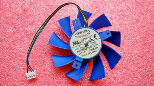 1PC EVERFLOW GTX460 graphics card GTX550TI graphics card fan T128015DH 12V 0.32A