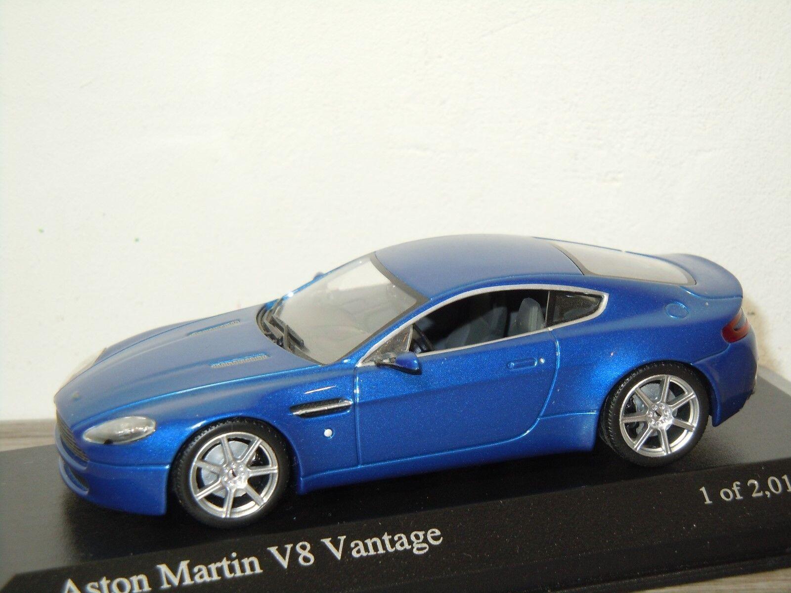 Aston Martin V8 Vantage 2005 - Minichamps 1 43 in Box 30808