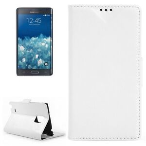 COVER-CUSTODIA-PER-SAMSUNG-GALAXY-NOTE-4-EDGE-SM-N915F-A-LIBRO-PELLE-BIANCO-SLIM