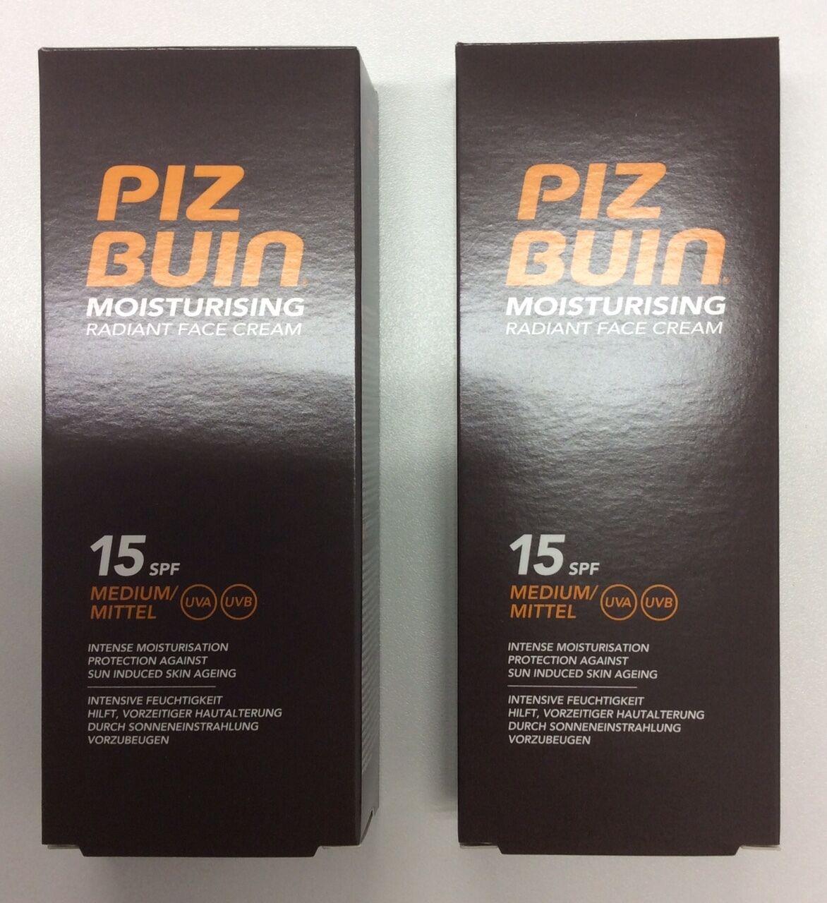 Piz Buin Moisturising Face Cream SPF15 50ml