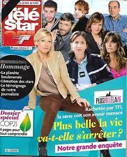 TELE STAR N°2043 28 NOVEMBRE 2015  PLUS BELLE LA VIE/ ATTENTATS A PARIS/ COP21