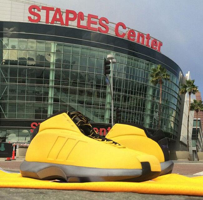 adidas fou 1 kobe bryant bryant bryant sunshine la lakers 9 or jaune Noir  Gris  kb8 chaussures dc86bf