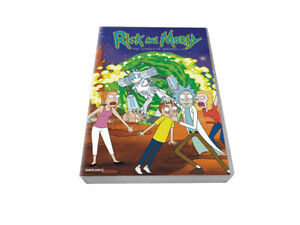 Rick-and-Morty-complete-series-Season-1-4-DVD-8-Disc-Brand-New-US