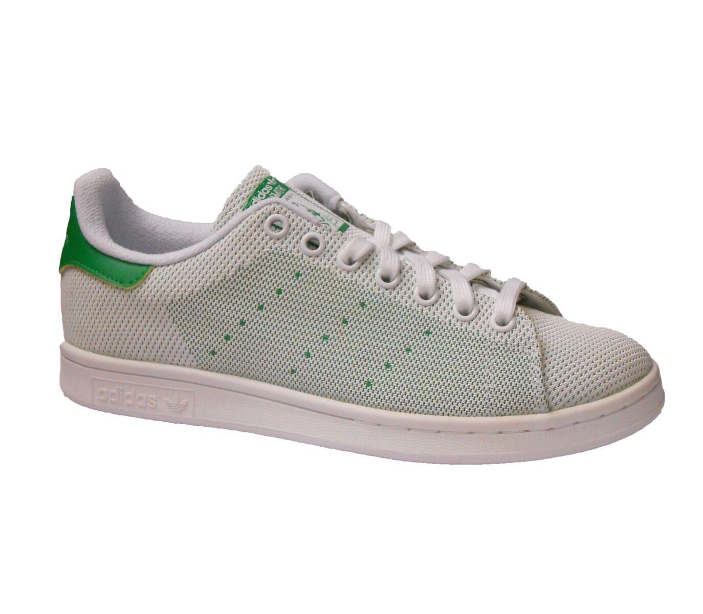 Adidas Stan Smith Uomo Trainer Shoe White Green Size 7 - 10 New