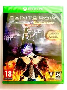 Saints-Row-IV-Reelected-Gat-Out-Hell-Xbox-One-Neuf-Scelle-Nouveau-Scelle-Eur