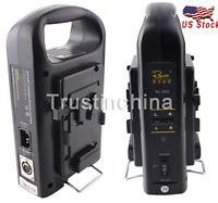 Rolux Rl-2ks Sony V-mount V Lock Camera Battery Charger Dc Power Supply Us