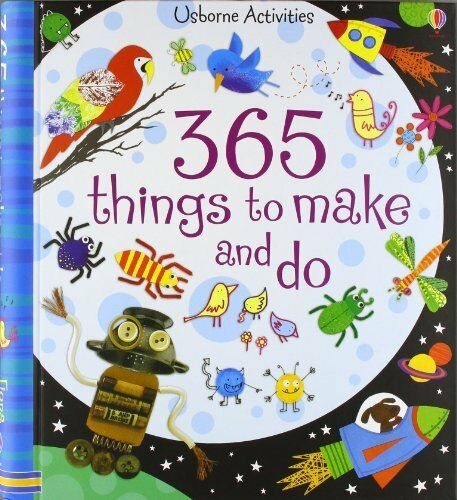1 of 1 - 365 Things to Make and Do (Usborne Activities) by Watt, Fiona 0746087926 The
