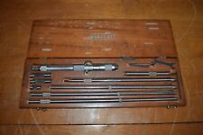 Starrett Inside Micrometer Set No124 C 8 32 Range