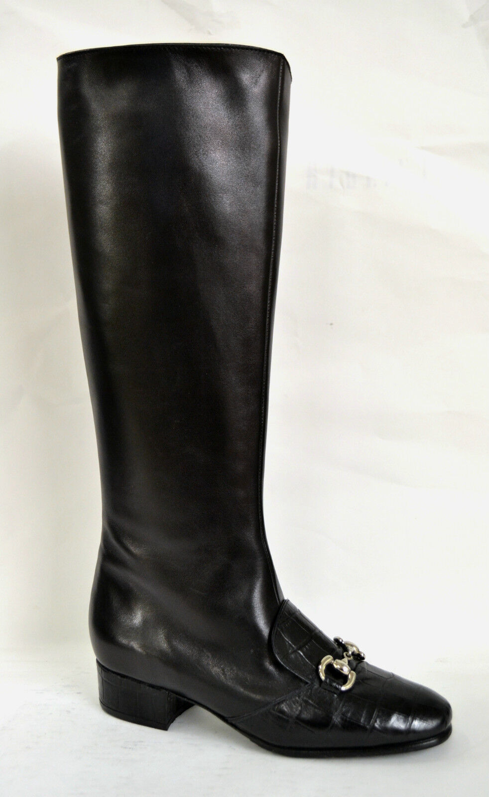 Grandes zapatos con descuento STIVALI DONNA NAPPA NERO VERA PELLE MADE IN ITALY PERSONALIZZABILI SU MISURA