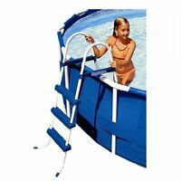 Intex 36 Above Ground A Frame Swimming Pool Ladder With Barrier | 58976e on sale