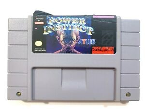 AUTHENTIC-Power-Instinct-Super-Nintendo-SNES-Game-Tested-Working