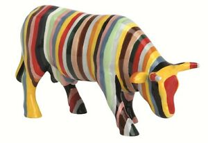 Cow-Parade-Figurines-Large-Striped-20112-Cowparade-UK-Stripey-Cow-Statue-Gift