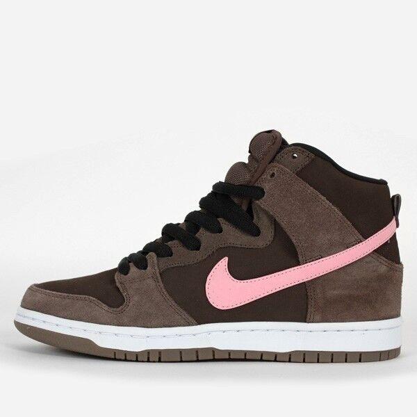 Nike DUNK HIGH PRO SB Brown Smoke Ion Pink Baroque Brown SB Discounted (240) Men's Shoes 5195b3