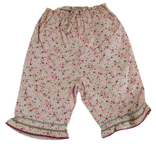 JACADI Girl/'s Mardi Pink Multi 3//4 Length Trousers Sz 12 Months NWT $38