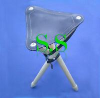 Tripod Seat Sticks With Leather