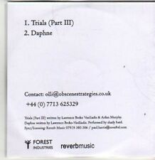 (BT840) Shady Bard, Trials (Part III) / Daphne - DJ CD
