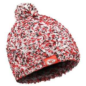 7b9f8eac2e2 Kansas City Chiefs Chunky Knit Light Up Logo Beanie Winter Hat Toque ...